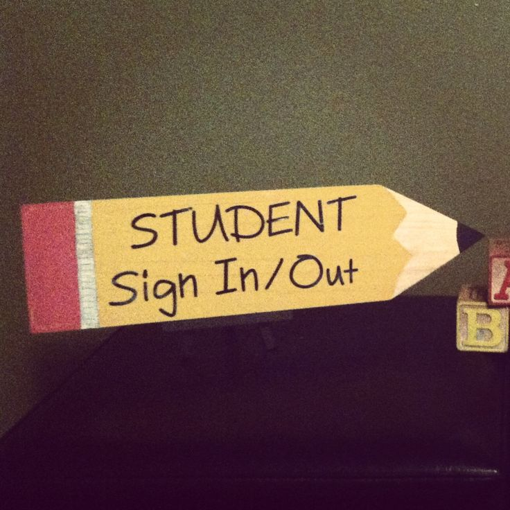 Back to School decor idea... Paint wooden piece to look like a pencil & add self-stick lettering from craft store for teacher name plate or office signage!