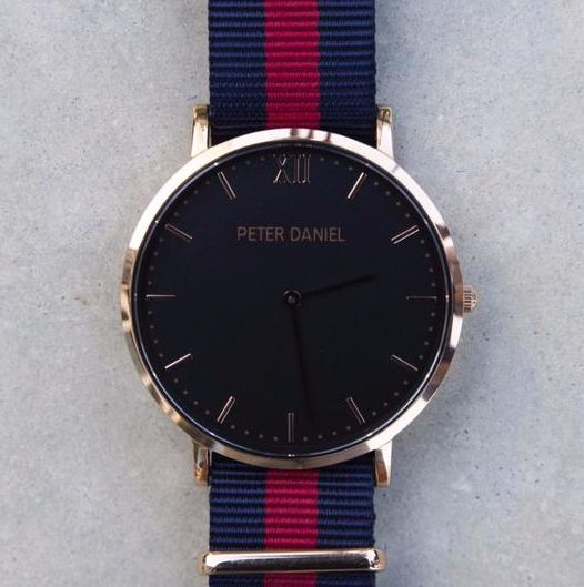 Genesis - Black and Navy/Red Nato