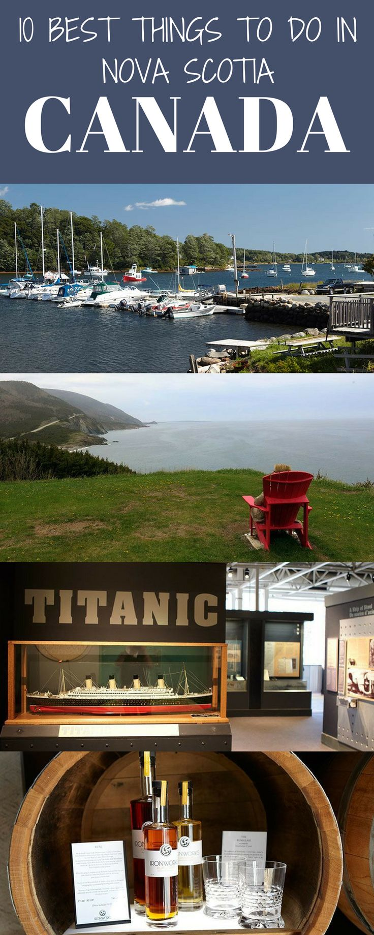 10 things to do in Nova Scotia.  Cape Breton and the Cabot Trail is rightly praised as one of the great drives on the planet.