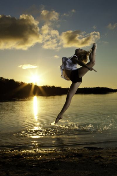 You know you're a dancer when you describe to people that dancing feels like flying or gliding across water.