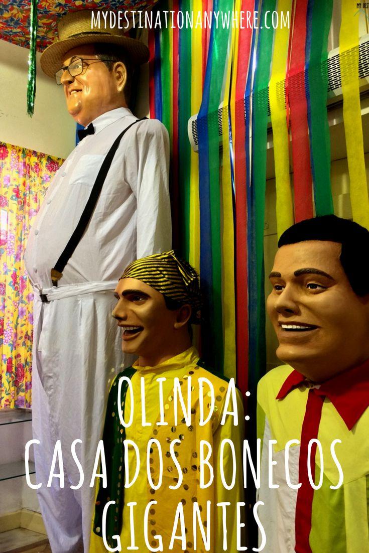 Casa dos Bonecos Gigantes de Olinda: A Cultura do Carnaval de Olinda
