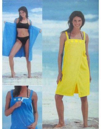 Günboyu Askılı Plaj Elbisesi - Bornoz http://www.markaix.com/