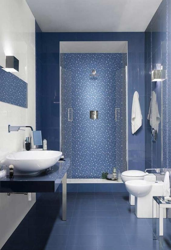 Bathroom Tile Ideas Will Amp Up Your Small Bathroom With A Touch Of Creativity And Color Modern Modern Bathroom Tile Bathroom Remodel Small Diy Tile Bathroom