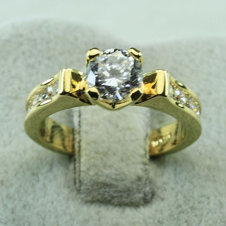 154 best 18K Yellow Gold Ring images on Pinterest