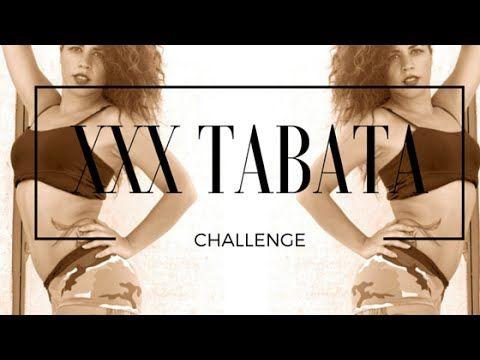 XXX TABATA CHALLENGE - ARE YOU AFRAID????