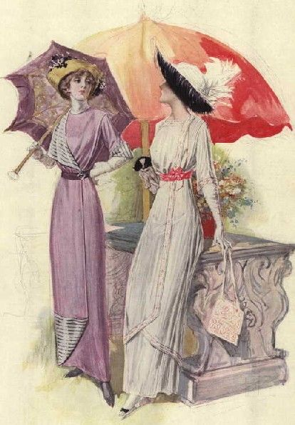 Fashions from The Delineator, 1911