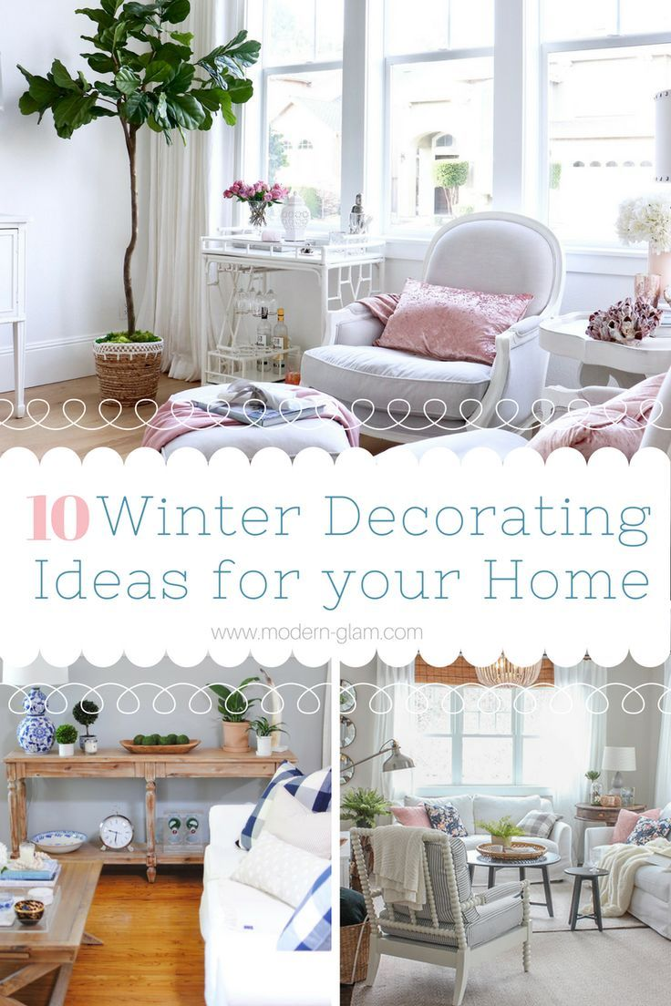 Winter Decorating: 10 Creative Ideas to Decorate Your Home. Check ...