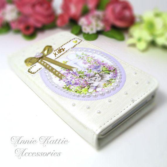 Flip case Wallet case iPhone case Galaxy case HTC by AnnieKattie