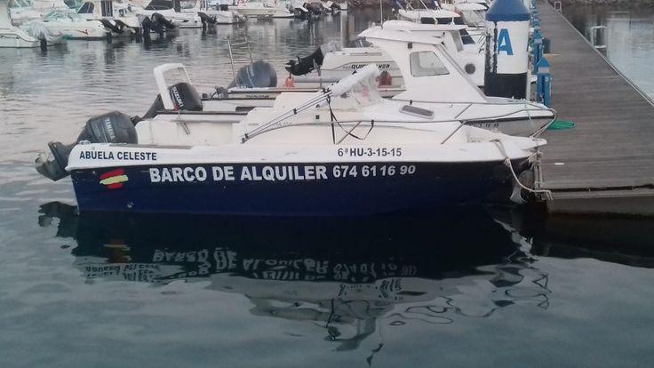 #Alquiler de #Barcos de recreo Barco marca Duche modelo Javana 550 de 5.50 metros de eslora y 60 caballos de potencia, motor de 4 tiempos inyección marca Yamaha.  Toldo binini, escalera de baño, sonda-GPS 5 plazas.necesita titulación mínima el titulin o licencia de navegacion.
