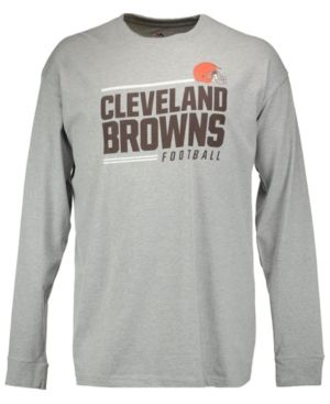 Profile Men's Cleveland Browns Line of Scrimmage Big & Tall T-Shirt - Gray