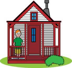 Luxuary Cartoon House Pictures Or A Tree House Wouldn T