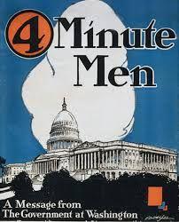 Image result for four minute men
