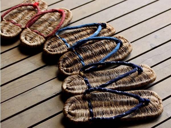 竹皮健康草履(ぞうり) 室内スリッパ 室内履き bamboo 竹細工 虎斑竹専門店 竹虎