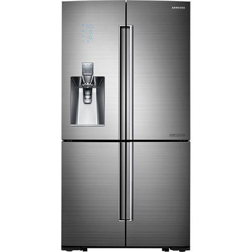 Charming Counter Depth Flex French Door Refrigerator With Thru The Door Ice And  Water: Digital Controls; Triple And Metal Cooling System; Fridge In Freezer  Design