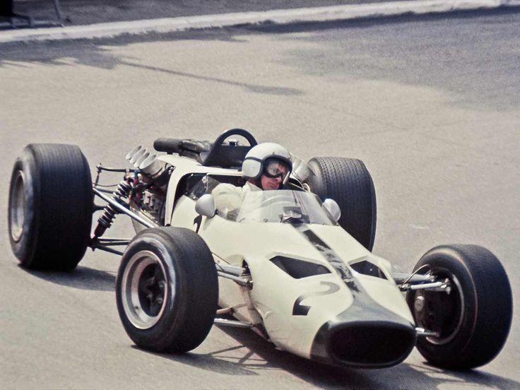 1966 McLaren-Ford M2B, el primer Mclaren de Fórmula 1