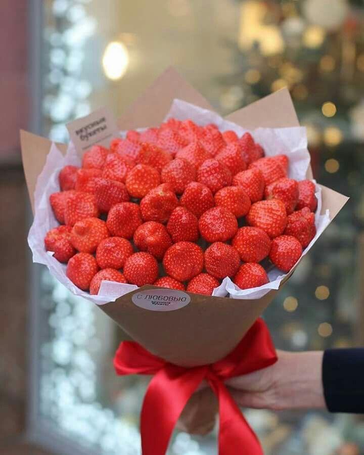 Ghim Của Ghada Elsayed Tren Flowers Dau Tay Trai Cay Thức ăn