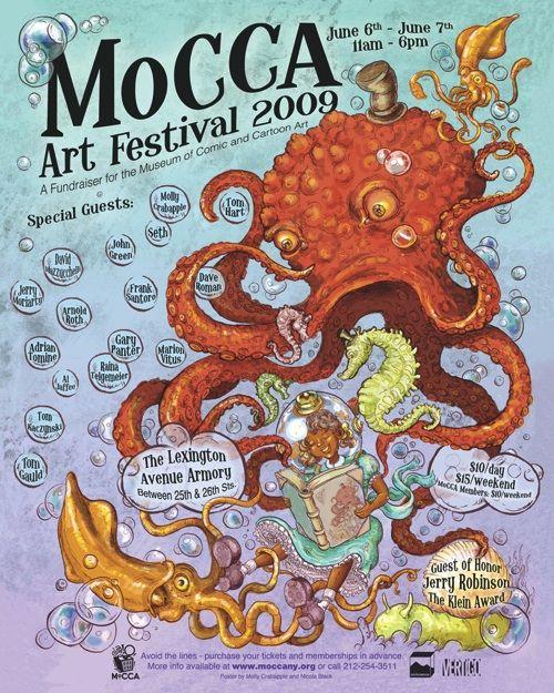 MoCCA Art Festival 2009