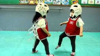 Brighten Your Day With The Cutest Taekwondo Match Ever