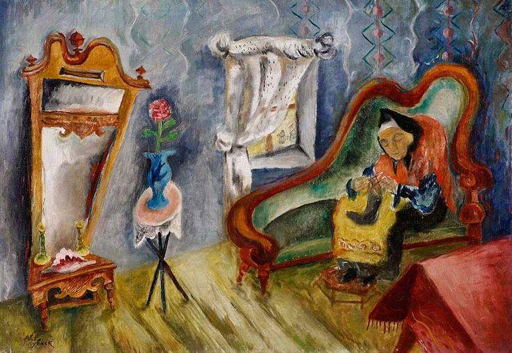 Isacar Ber Ryback: Expresionismo judeo-ruso