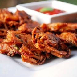 Kanda Bhaji - Onion Pakora by shwetainthekitchen