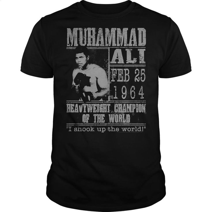Muhammad Ali Poster T Shirts, Hoodies, Sweatshirts - #womens hoodies #free t shirt. GET YOURS => https://www.sunfrog.com/Sports/Muhammad-Ali-Poster-64394896-Black-Guys.html?60505