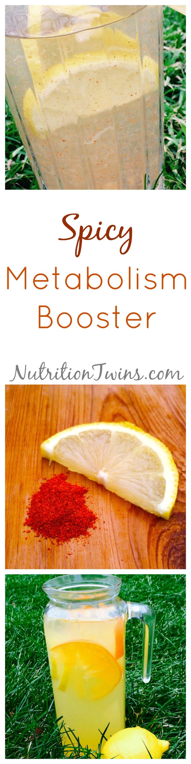 Spicy Metabolism Booster | Only 5 Calories | Spicy Lemonade to kickstart Metabolism and help to flush bloat | Please check out our 21 Day Body Reboot www.NutritionTwins.com
