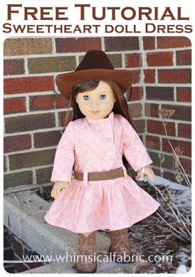 February Tutorial Tuesday - Sweetheart Doll Dress