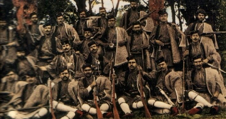 Macedonian Fighters - Macedonian War of Liberation from Foreign Ottoman Occupation and reunification with Greece.