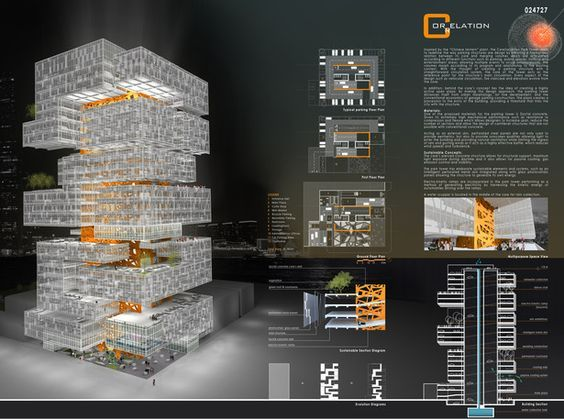 cool architectural design graphics and layout by FC2STUDIO: