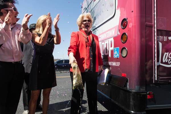 All aboard: Las Vegas launches free downtown shuttle - Las Vegas Sun News