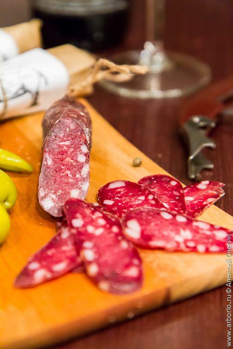 Сыровяленая колбаса | Кулинарные заметки Алексея Онегина