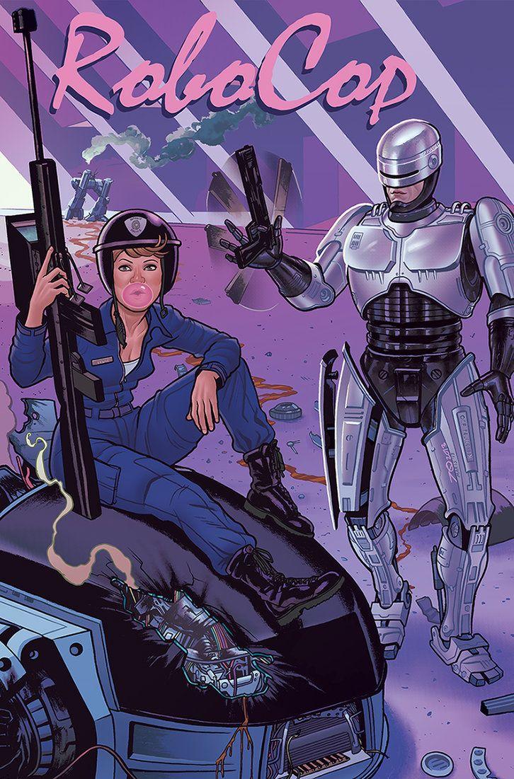 RoboCop by Joe Quinones