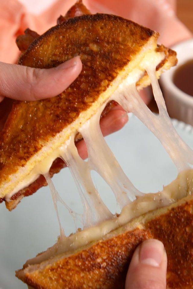 French Toast Grilled Cheese  - Delish.com