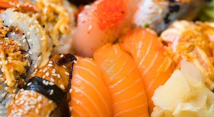 "curatedfoodie: "" Sushi Time Fresh sushi is a delicious treat which is now enjoyed the world over. With origins in Japan, Sushi has become an international phenomenon available in all kinds of shapes and sizes. """