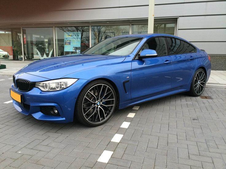 BMW F36 420i Msport estoril blue BMW F36 Gran Coupe
