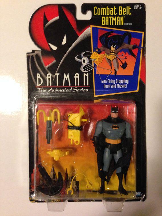 Batman the Animated Series Combat Belt Batman Rare Batman Toy Collectible MOC Vintage Action Figure