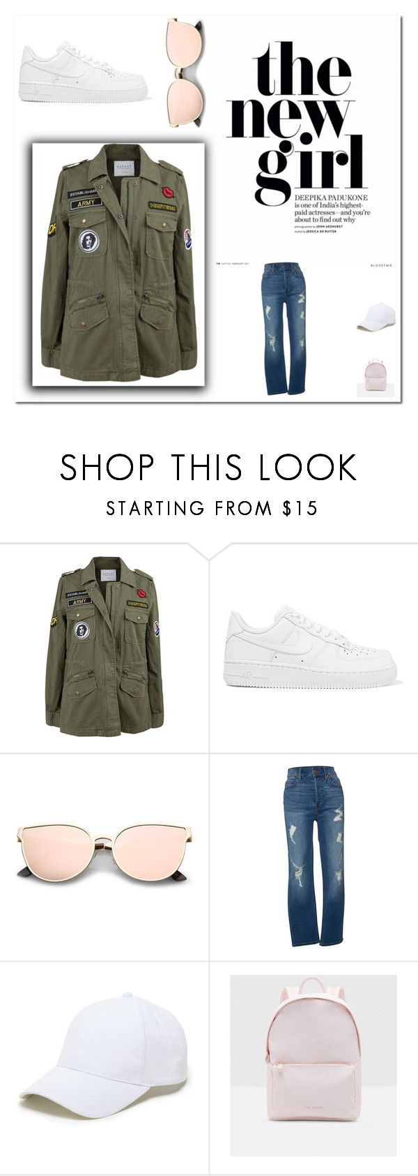 """""""Cool, Calm & Collected"""" by vintagefringe on Polyvore featuring Velvet by Graham & Spencer, NIKE, Level 99, Sole Society, Ted Baker and vintage"""