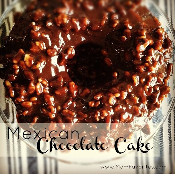 Mexican Chocolate Cake Recipe: My kids ADORED this recipe!