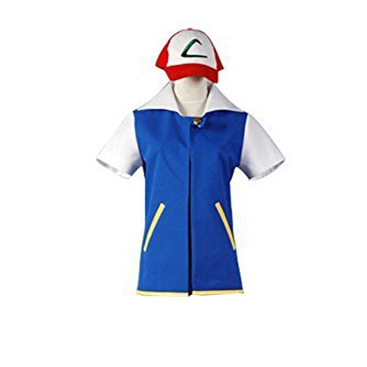 pokemon ash ketchum adult costume