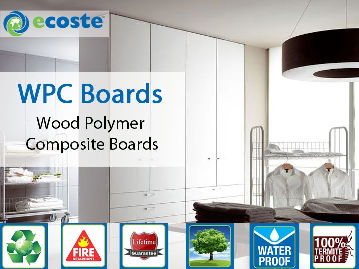 Revive Your ‪#‎Wardrobe‬ & Give it New Look by ‪#‎WPC‬ (Wood Polymer Composite Boards) - http://goo.gl/ZDpHep