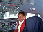 Occasionally I have the opportunity as a flight attendant to sit in the left seat which is the captain's chair or the right seat which is the first officer's chair. Females are increasing moving to the male dominated pilot career, especially at American Eagle and other regional airlines. Women are finally becoming captains not just first officers. Why is this happening?