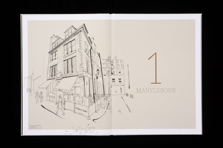 Brochure by Pentagram for new property development The Mansion on Marylebone Lane