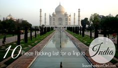 Planning what to pack for India can be a bit overwhelming. As a special request from a traveler heading to India on a 3 week trip, Travel Fashion Girl's India packing list shows you how to choose the right clothes for your adventure!