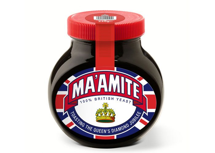 Ma'amite, putting a product into context and adding a twist to the original well recognised packaging makes a unique selling point.