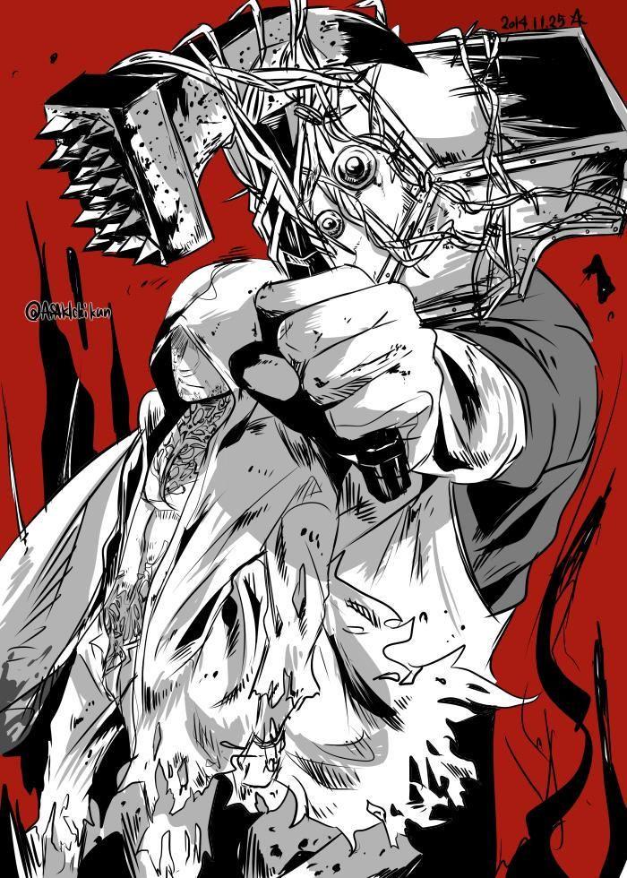 Ruvik and the Keeper by ASAKIchikun