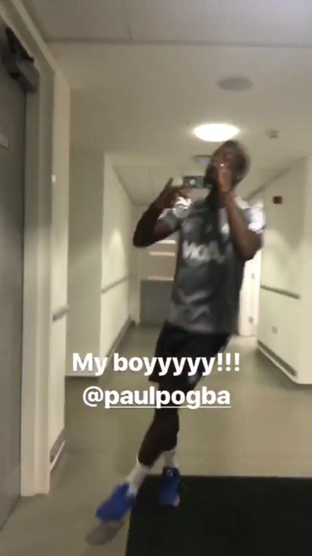 nice Pogba doing Jesse's celebration Check more at http://www.matchdayfootball.com/pogba-doing-jesses-celebration/