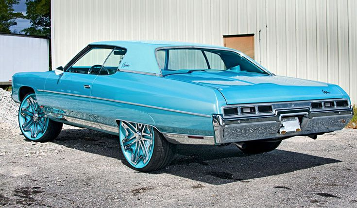Donks+ | DONK) 1971 Chevrolet Caprice coupe.