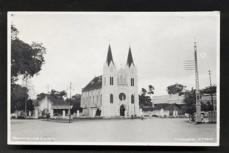 Church in Kepanjen Malang East Java