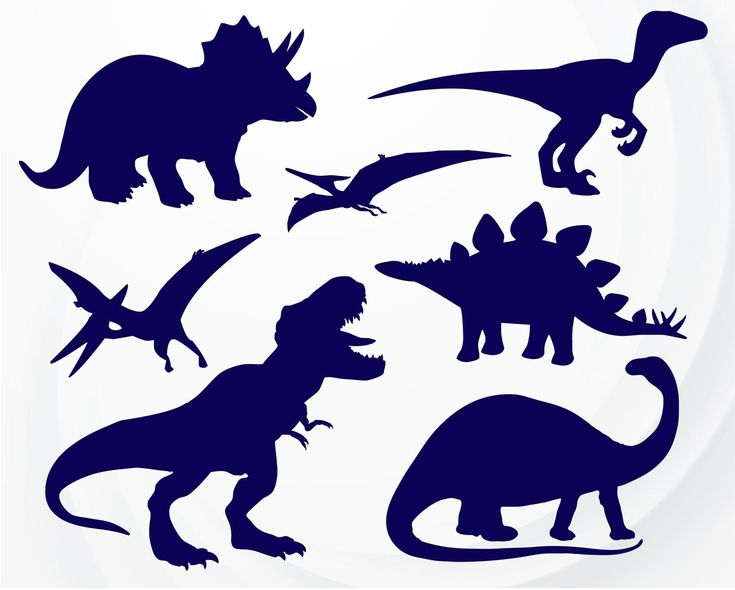 Download Dinosaur SVG T-Rex SVG file for Cricut Dinosaur Silhouette ...