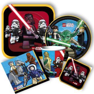 Lego Star Wars Party Supplies, Lego Star Wars Birthday Party Supplies: Discount Party Supplies